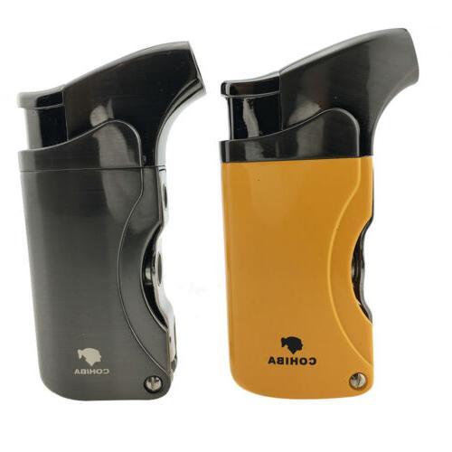 Cohiba Cigar lighter Windproof 1 Torch Jet Flame ButaneRef