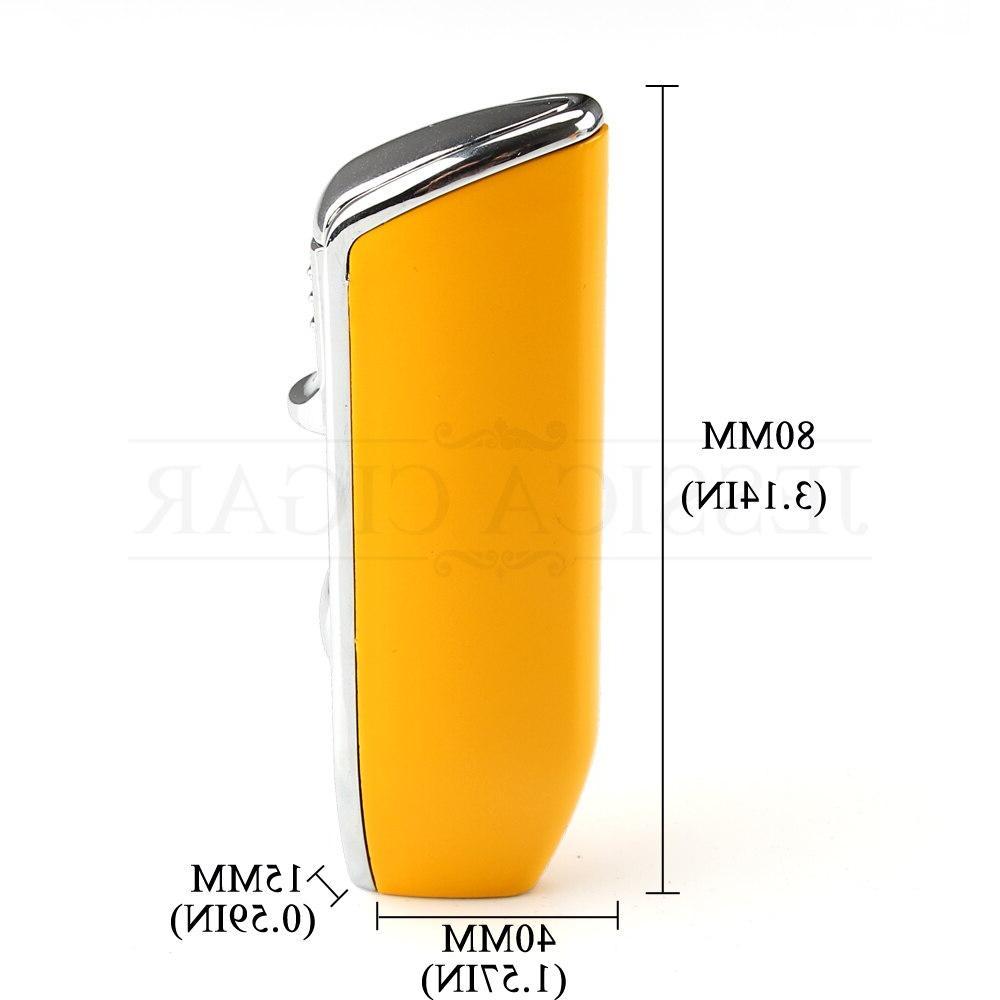 COHIBA Metal Pocket Jet Cigarette <font><b>Lighters</b></font> Punch Gift
