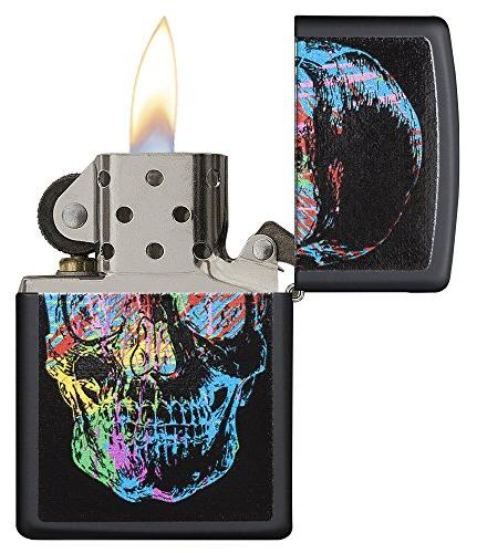 Zippo Colorful Lighter, Black