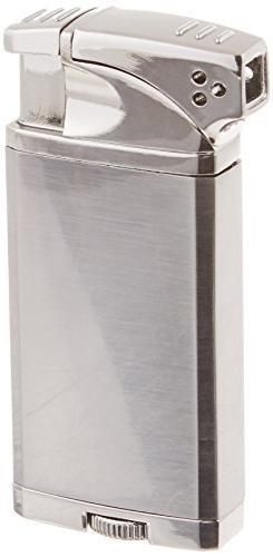 Visol Coppia All-in-One Cigar and Pipe Lighter, Gunmetal