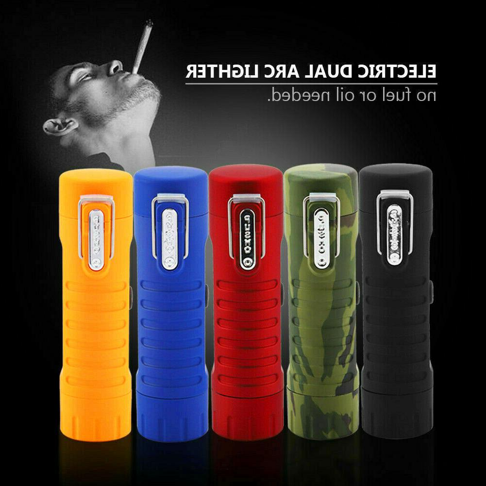 Dual Plasma Lighter with for and Survival.