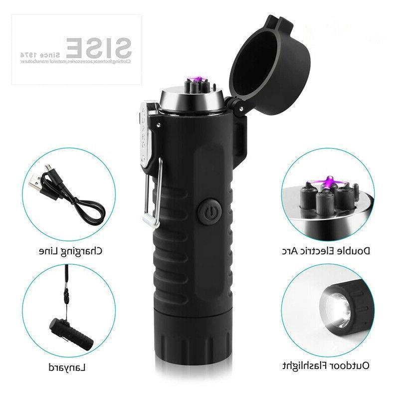 Dual Lighter Flashlight for