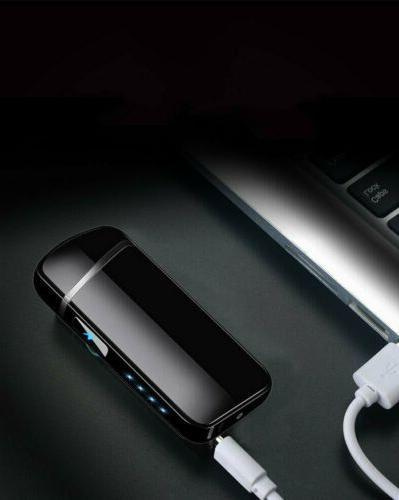 Hot Dual USB Windproof Plasma