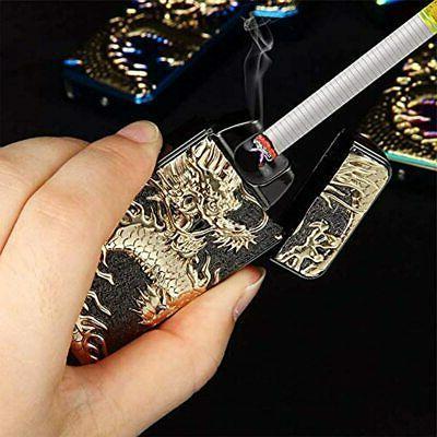 Dual Plasma USB Rechargeable Butane Free Chinese