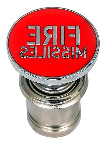 Kei Project Fire Missiles Button Red Push Button Car Power P