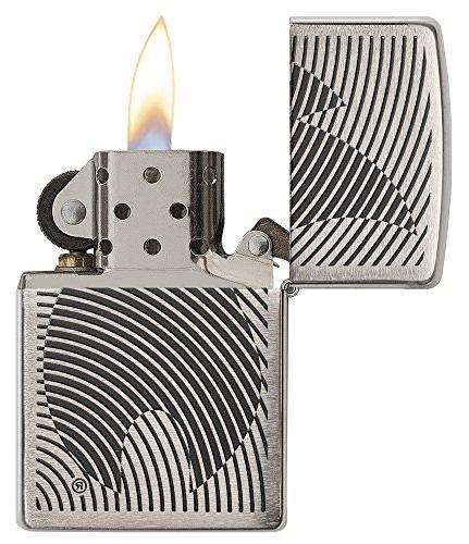 Zippo Pocket Lighter, Brushed Chrome