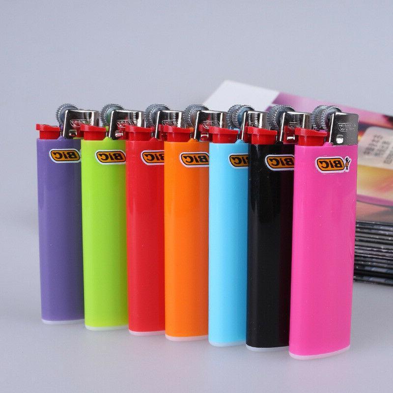 Full Big Cigarette Lighters Assorted Color Lighter