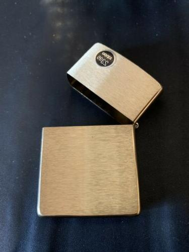 Genuine Zippo Brass Lighter Insert/Box