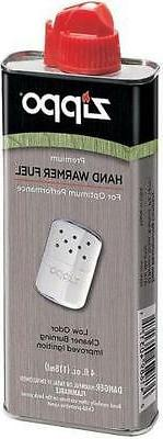 Genuine Zippo 4 oz.118ml Hand Warmer Lighter Fluid Premium F