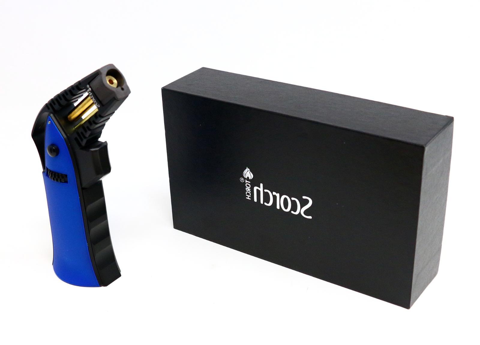 Scorch Torch 51470 Handheld Flame Adjustable Butane Refillab