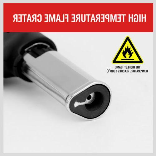 Jet Torch Gun Welding Adjustable Flame Butane Refillable