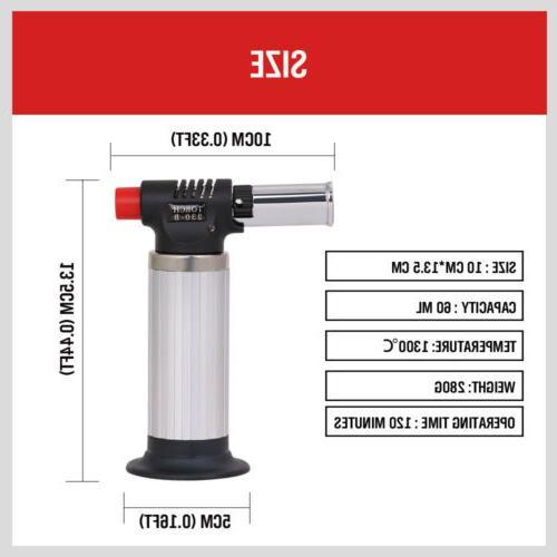 Jet Gun Lighter Welding Flame Windproof Butane Refillable