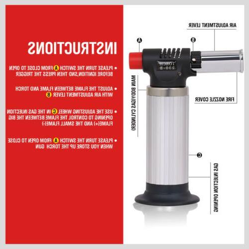 Jet Torch Welding Adjustable Butane