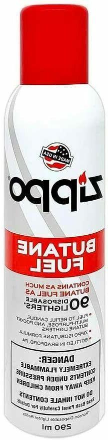Zippo Lighter Butane Fuel 290 ml