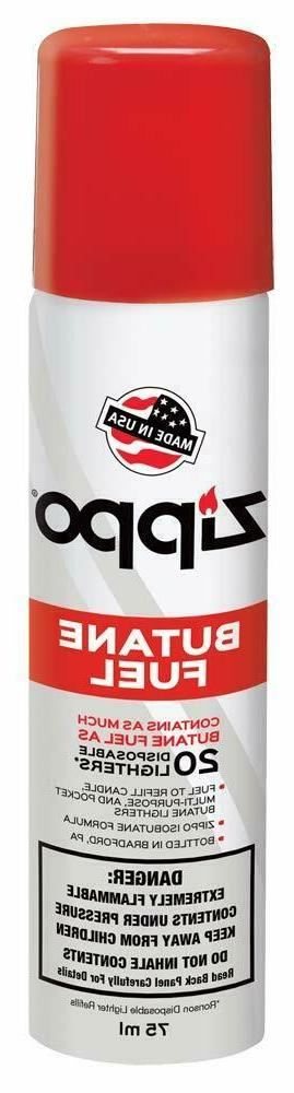 lighter refill butane fuel 75ml