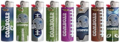 Bic Dallas NFL Officially Size 8pc Set