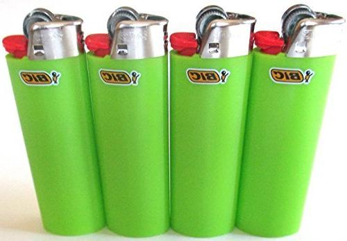 lime green classic full size lighters new