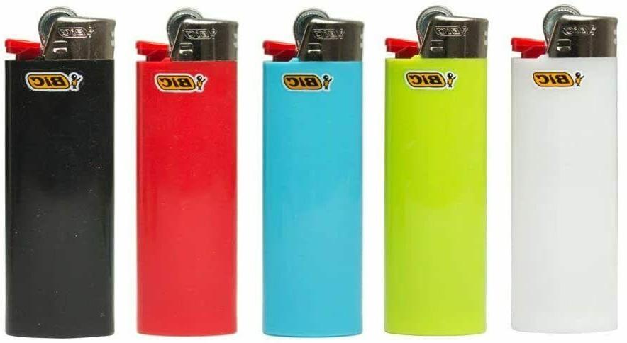 BIC Lot of 5 Mini Multi-Colour Lighter Lot
