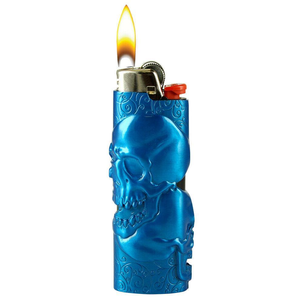 Metal BIC Lighters, Lighter and Bottle