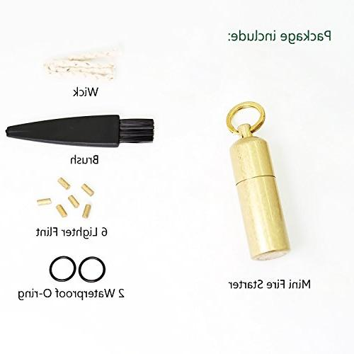 PPFISH Mini - Lighter Keychain Starter Especially and Emergency