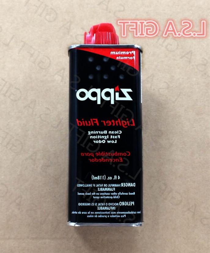 new premium lighter fluid 4 fl oz