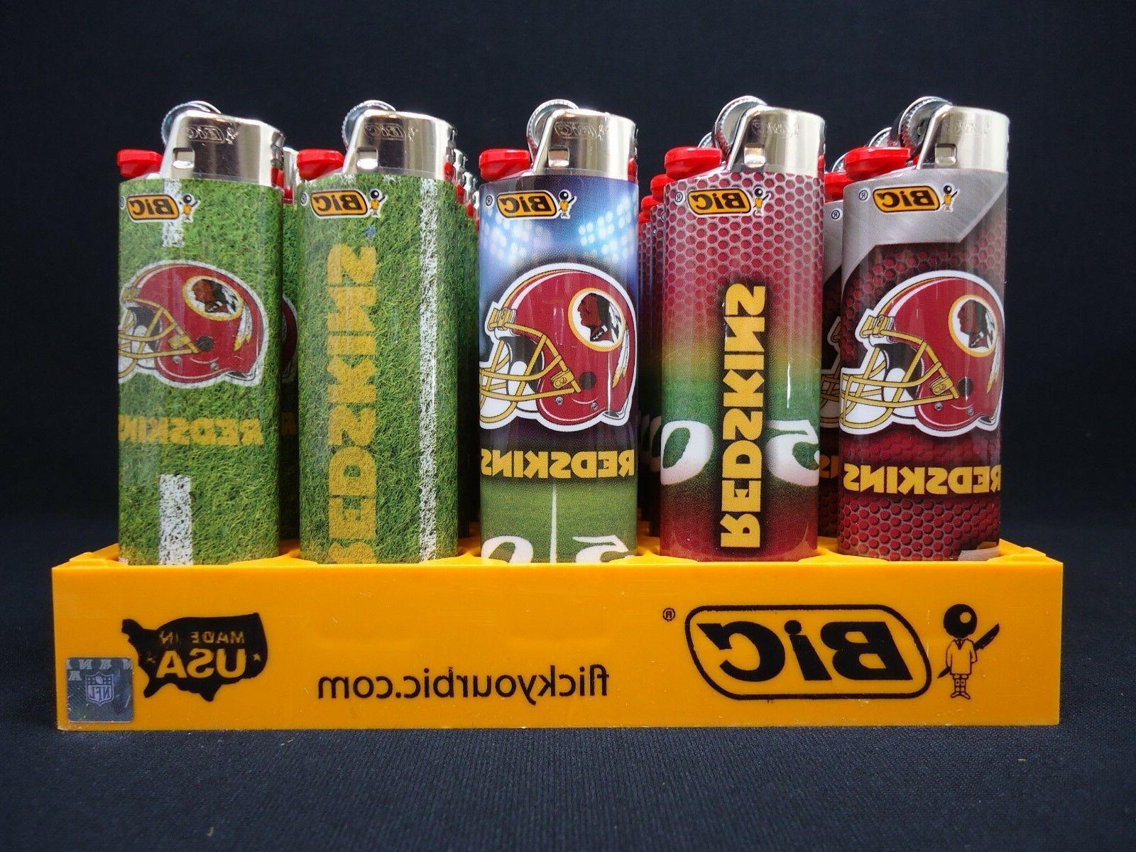 Bic NFL Washington Redskins Lighter 50/tray