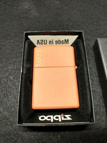 orange lighter w logo 231zl