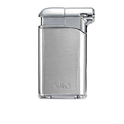 pacific air soft flame lighter chrome chrome