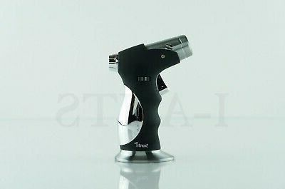 SCORCH REFILLABLE 4 FRAMES TORCH LIGHTER WITH CIGAR PUNCHER