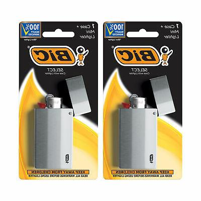 select metal case with mini lighter 2