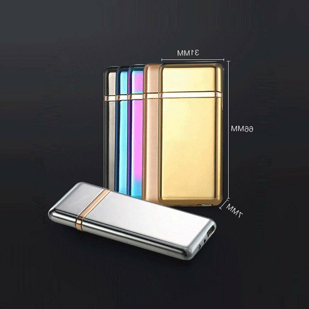 Smart Touch Sensor Rechargeable Double Flameless Plasma Lighter