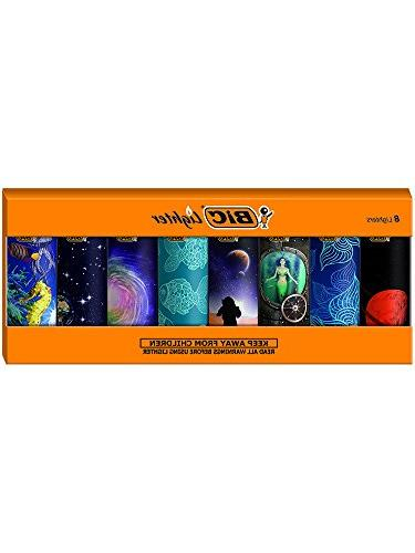 BIC Special Series of 8 Lighters