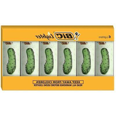 BIC Special Edition Pickle Series Lighters, Set of 6 Lighter