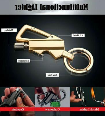 Ten Lighter Key Lighter Bottle Opener