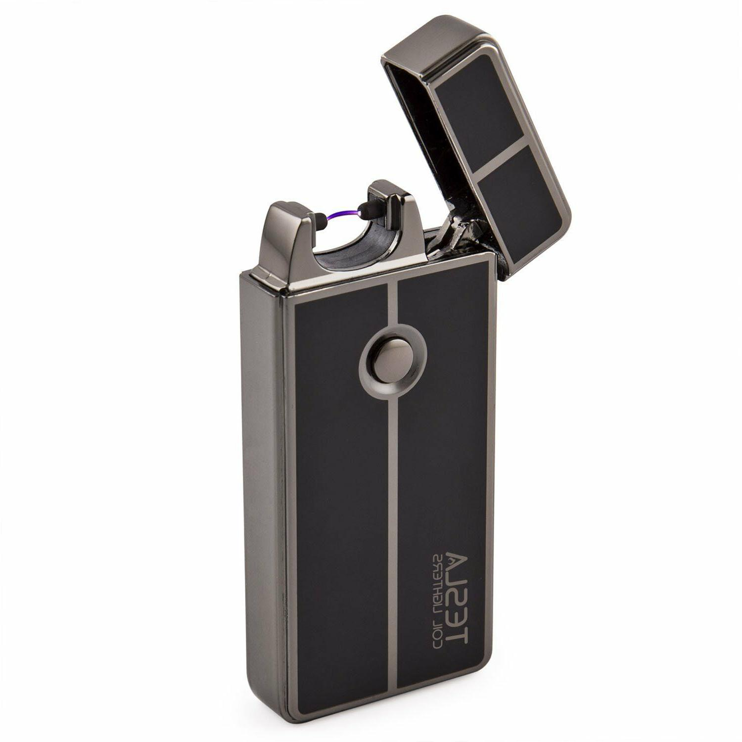 tm usb rechargeable lighter windproof arc