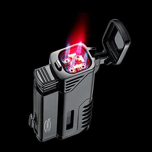 Cobber Lighter, Quad 4 Jet Red Punch