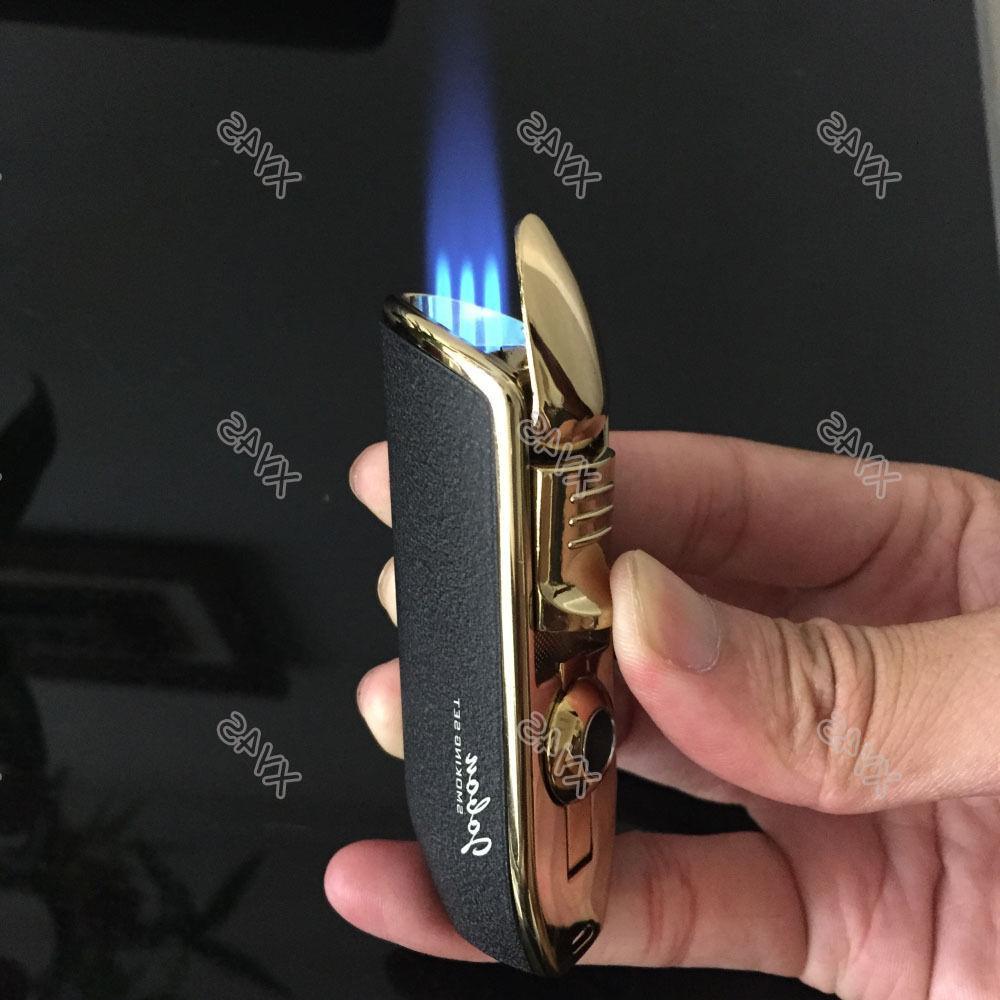 JOBON Torch Cigarette Butane Cigar Lighter