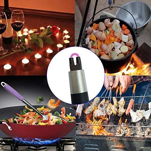 USB Lighter Electronic 360° Neck Windproof Flameless Home, Kitchen, Stove, Camping Easy Use