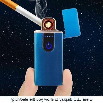 USB Flameless Torch Windproof Cigarette J