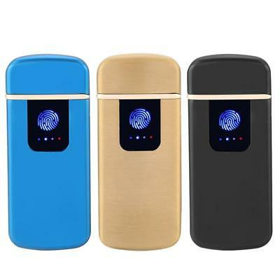 USB Arc Flameless Torch Rechargeable Windproof Cigarette J