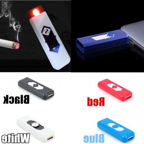usb lighter rechargeable electronic lighter plastic cigarett