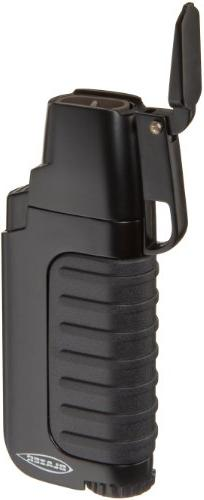 Blazer Venture Butane Refillable  Torch Lighter, Black
