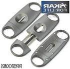 XIKAR VX Metal V Cut Cigar Cutter ~ Gun Metal ~ 155GM **NEW*