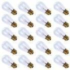 Pack of 20pcs 11 Watt S14 Warm Replacement Glass Bulbs - E26