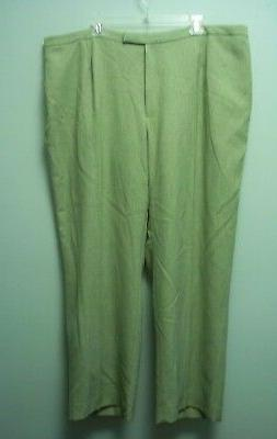 Jones Studio womens pants lighter green full lining 22w  new