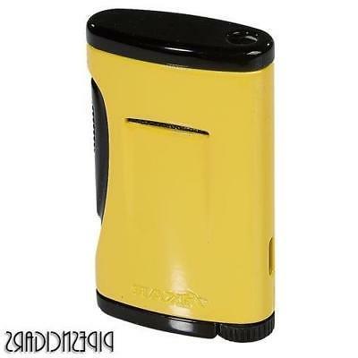 XIKAR XIDRIS Single Jet Torch Flame Cigar Lighter - Canary Y