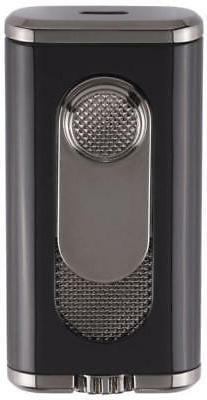Xikar Verano Flat Flame Lighter Black - 554BK