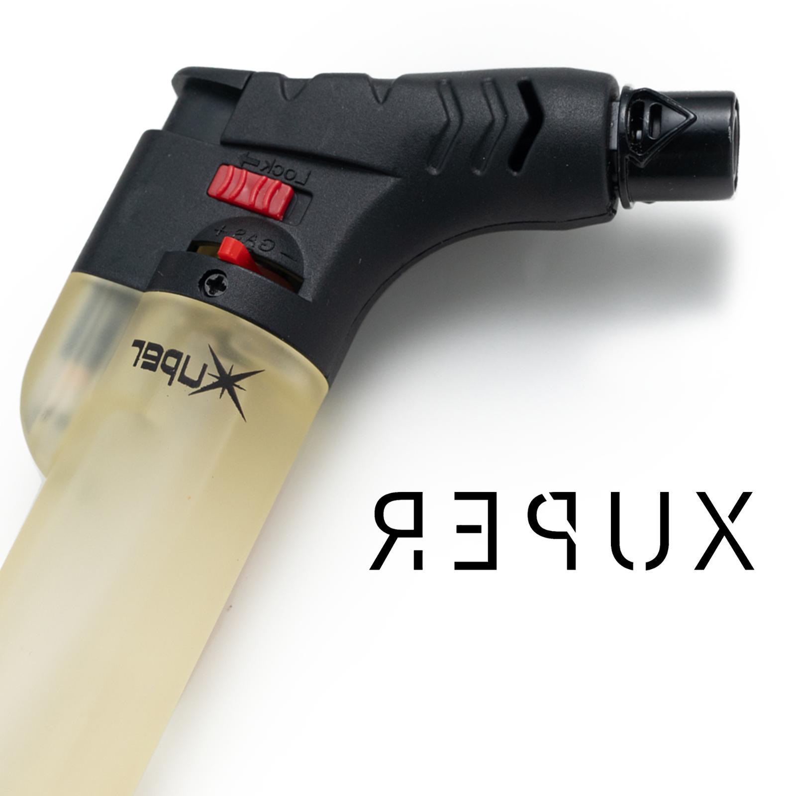 Xuper Torch Lighter Windproof Adjustable Butane Refillable