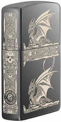 Zippo Windproof Anne Stokes Gothic Dragon Lighter, 28961, Ne