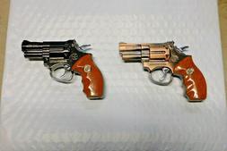 Large Magnum .357 Gun Shape Jet Torch Lighter USA Stocked An